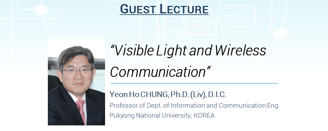 Guest Lecture and Scholarship Information from Korea