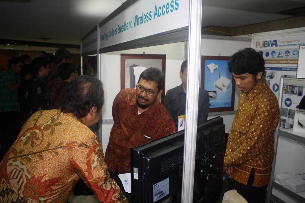PME ITB's exhibition booth