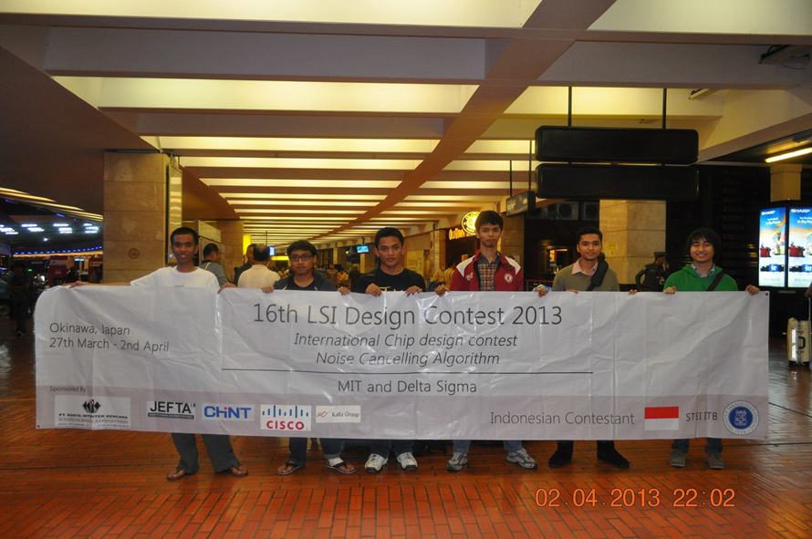 Two Electrical Engineering ITB Teams Won the 16th LSI Design Contest in Japan