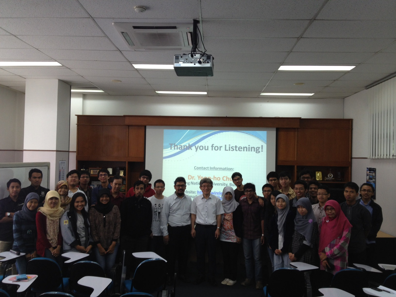 "Guest Lecture ""Visible Light and Wireless Communication"""