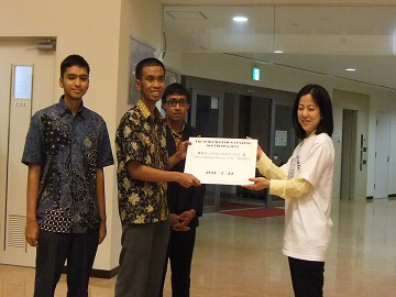 "Muhammads in Team won the ""Best FPGA Award"""