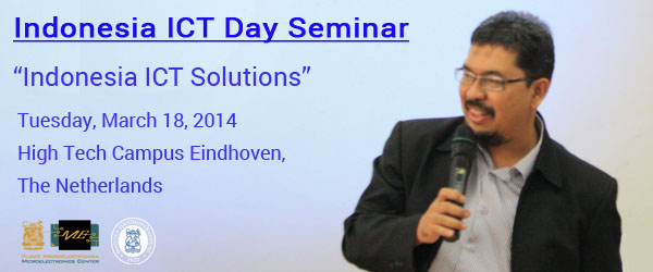 "PME ITB to Join ""Indonesia ICT Day"" in Eindhoven, the Netherlands"