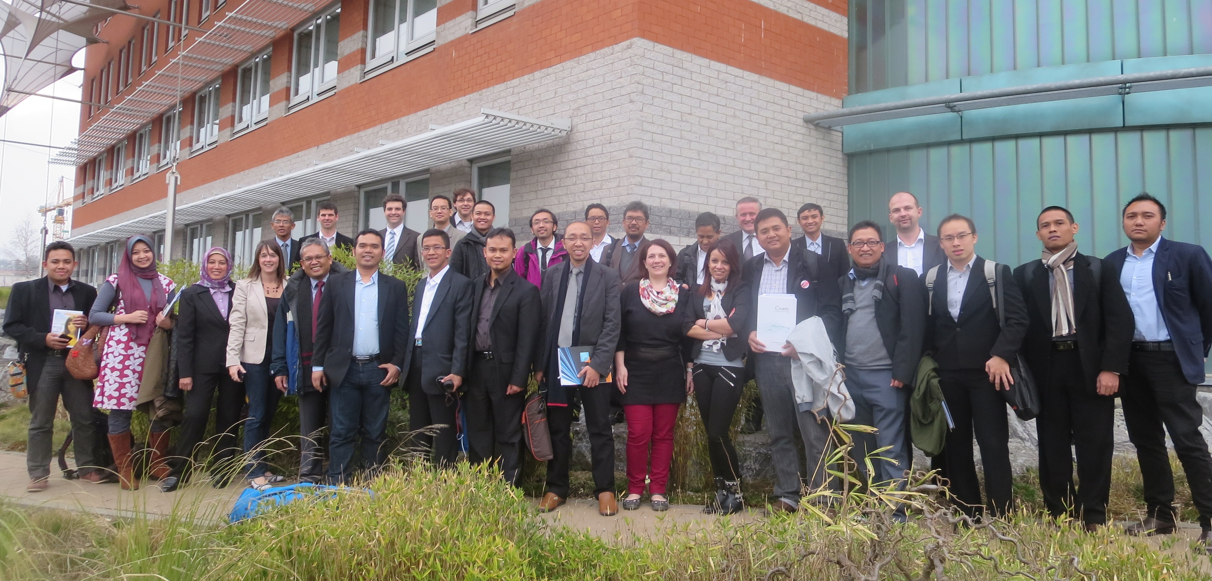 PME ITB's Visit to Wallonia Clusters, Belgium