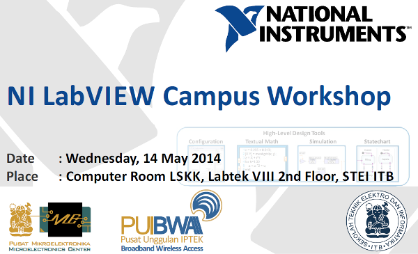 NI LabVIEW Campus Workshop in ITB
