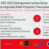 IEEE SSCS Distinguished Lecture Series