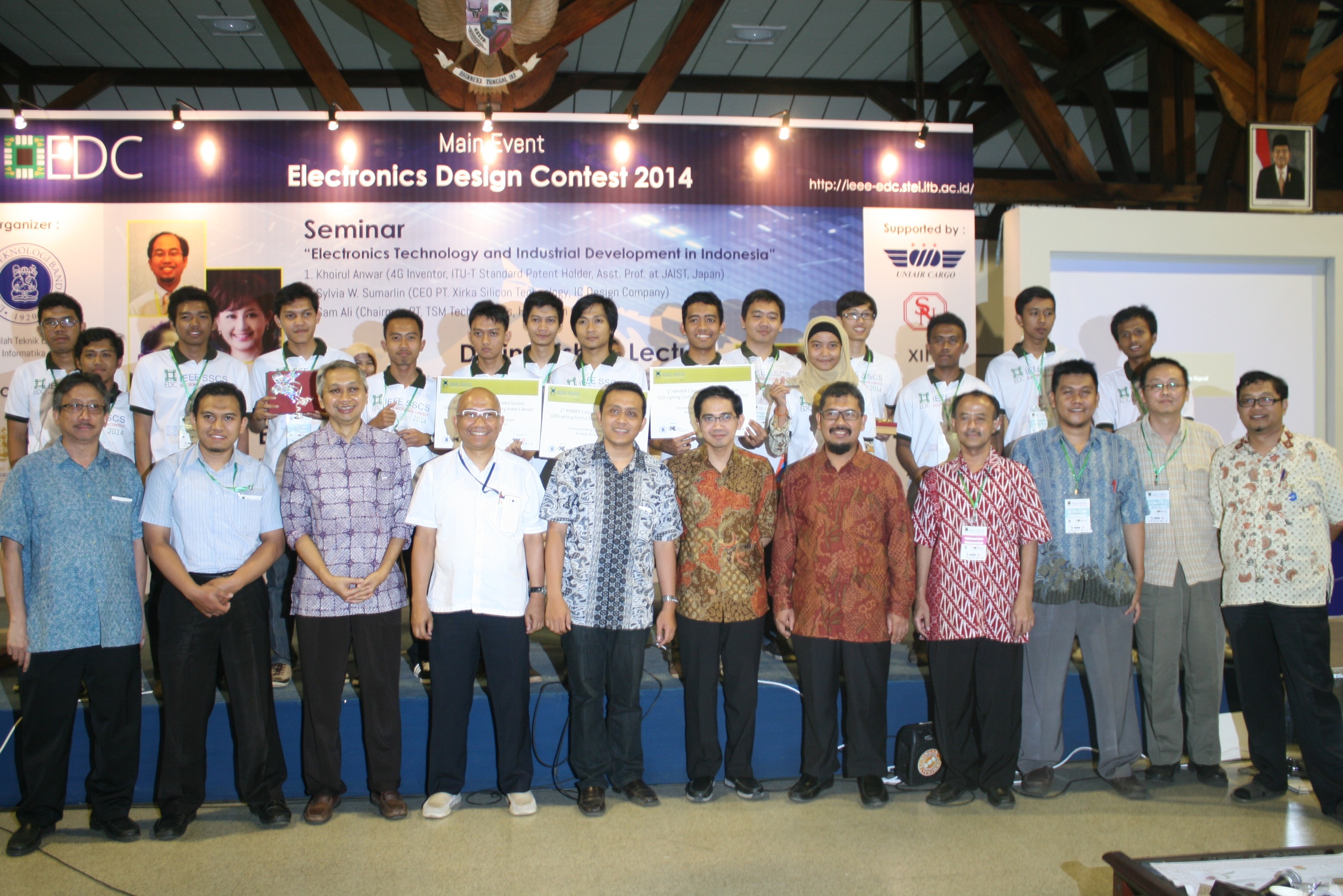 Press Release Electronics Design Contest 2014