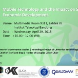 Guest Lecture on Mobile Economy 2015