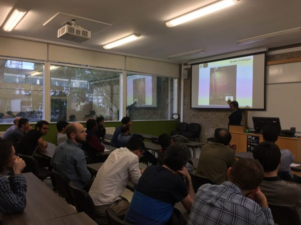 Dr. Trio Adiono gives a guest lecture at the University of Edinburgh, UK