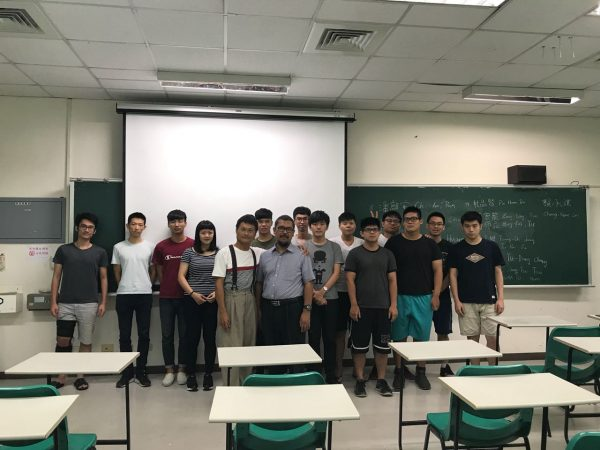 Mr. Trio Adiono, PhD as Guest Lecture at National Taiwan University of Science and Technology