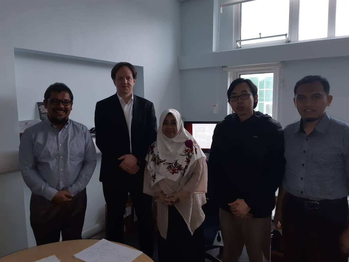 Prof. Trio Adiono and Teams Visiting University of Edinburgh, UK